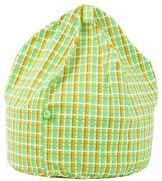 Large Retro 60s Bean Bag With Beans By BeanLazy