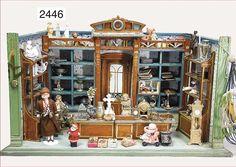 shop, furnished like an antique shop, 61 cm wide