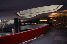 Underground Parking Lot Parking Lot, Architecture, Interior, Anime, Garages, Museum, Portion Plate, Arquitetura, Indoor