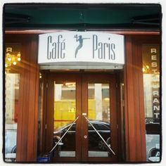 Café Paris, near Rathausplatz Hamburg