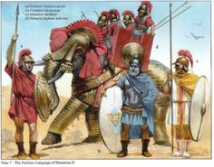 Seleucid and Ptolemaic Reformed Armies 168-145 BC (1) Seleucid Army by Nick Sekunda and Angus McBride (illustrator). Parthian Campaign of Demetrius II (Nicator, 146-139 BCE then 129-6 BCE):B – Galatian infantryman.