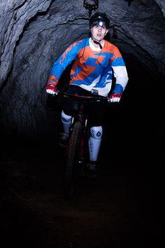 Mpora goes underground mountain biking in the mines beneath the mountain Peca in the Koroso region of Northern Slovenia. Slovenia, Mountain Biking, Abandoned, Europe, Bike, Dark, Left Out, Bicycle, Bicycles