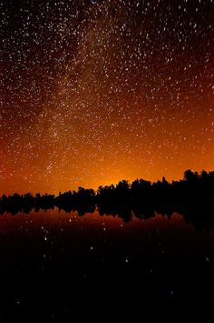 Milky Lake,Bellaire lake near Red Feather,  Colorado---This was the first date with my hubby during the perseid meteor shower.