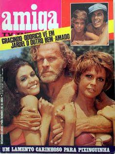 O Bem Amado Vintage Tv, Vintage Magazines, Maria Claudia, Nostalgia Critic, I Love Reading, Old Paper, Old Pictures, Cinema, Memories