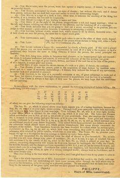 Aeclectic Tarot Forum - View Single Post - Petit Lenormand history