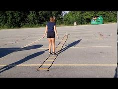 Ladder In Out Jumps: #phed #physicaleducation #physical education #homeschool #ladder Physical Education, Ladder, Literacy, Physics, Homeschool, Fitness, Stairway, Physical Education Lessons, Physical Education Activities