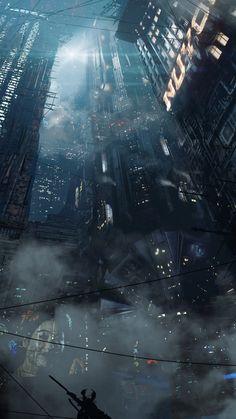 Poster Blade Runner 2049 City Blade Runner Roy Blade Runner a Blade Runner City, Blade Runner 2049, Arte Cyberpunk, Cyberpunk City, Blade Runner Wallpaper, Sci Fi City, Monster Drawing, Sci Fi Environment, Science Fiction Art
