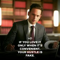 You have to love it when it gets tough, dirty , rejections , temporary setbacks etc. I'm a NATURAL BORN HUSTLER, i love it! Do you?? . . . #whatwouldharveydo #harveyspecter #gabrielmacht #suits #inspiration #life #hustler #love #hustle #mikeross #goals #motivationalquotes #harveyspecterquotes #wwhd