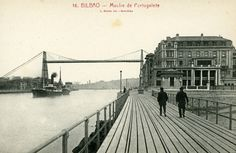 Palacio de Gandarias, Portugalete Bilbao, Basque Country, Old Pictures, Nostalgia, Louvre, River, History, Architecture, Building