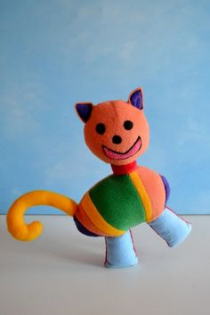 from kid's drawing to stuffed animal!
