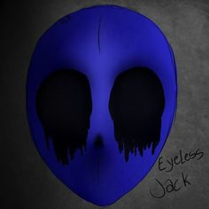Eyeless Jack mask ❤ liked on Polyvore featuring costumes, creepypasta, blue costume and blue halloween costume