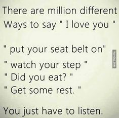 All you have to do is listen, don't think of it as someone telling you what to do think of it as them caring for you and loving just listen!