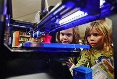 """NPR All Tech story on libraries, maker spaces, 3D printers, & rules http://n.pr/1GFoeUM  """"in an age where digital and technical literacy is stressed alongside traditional reading and writing, libraries are setting up plenty of space for the unexpected"""" #libraries"""