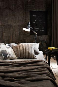 Warm tones, classic lamp.