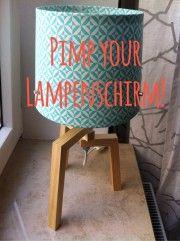 die besten 25 lampen selber machen stoff ideen auf pinterest llampe selber machen diy. Black Bedroom Furniture Sets. Home Design Ideas