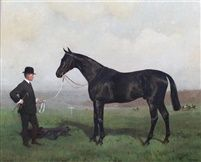 Cheers wnner of the Eclipse Stakes 1902 by Alfred Grenfell Haigh