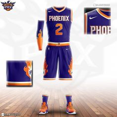 b5e8dfa51 Suns away jersey concept ☀ Thoughts  Leave re Basketball Uniforms