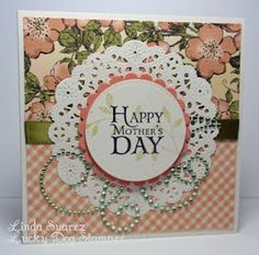 Beautiful Mother's Day card by Linda Suarez with our Once Upon a Springtime collection.#graphic45 #cards