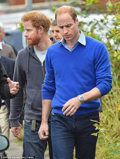 Different views: Prince Harry and his brother Prince William are believed to have differen...