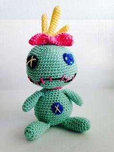 Crochet Scrump from Lilo & Stitch