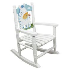 Teamson Kids- Safari Rocking Chair-Zebra-W-8340A $75 Have your child rock with Teamson Kids'