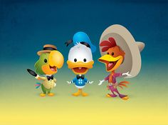 Kawaii Caballeros by Jerrod Maruyama, via Flickr  - Has estado en Bahía Donald?  - No  - Bueno! pues Vamos! Sí tu vas a Bahía Donald, jamás volverás!