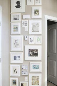 Photo wall display Anastasia Marie Photography Blog