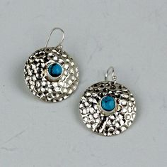 Craig Agoodie – Sterling Silver Earrings