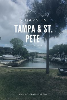 How to spend 3 Days in Tampa and St. Pete, Florida. Stories about relaxing, adventure, and even free things to do.