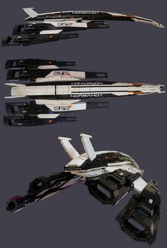 Mass Effect's Normandy SR2 In LEGO <<< shut up and take my money