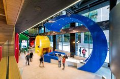Google's New Office In Dublin google office pictures – Interior ...