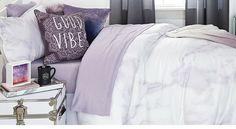 Lavender Marble Duvet ~Dormify