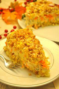 mimoza salatası