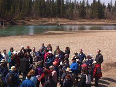 Jane's Walk Lake View, Calgary, Community, Mountains, Nature, Travel, Voyage, Viajes, Traveling