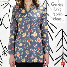 Liesl joins us today with a broad selection of possible fabrics for you to use when you join the upcoming Gallery Tunic + Dress Sew Along.