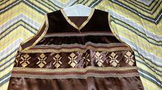 *Seminole patchwork men's vest*