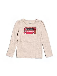 Practically New Size 6 Gymboree T-shirt, Long Sleeve for Girls