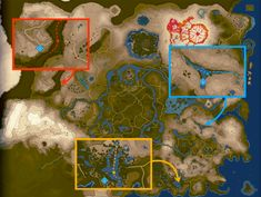 How to Farm Dragon Parts - The Legend of Zelda: Breath of the Wild Wiki Guide - IGN Zelda Breath Of Wild, Breath Of The Wind, Legend Of Zelda Breath, Zelda Map, Main Theme, Faeries, Animal Crossing, Farming, Art Reference