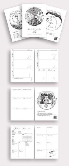 Nyomtatható naptár és tervező 2017