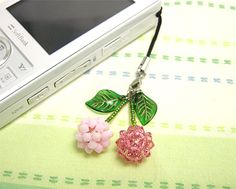 Beaded cherries ball pattern