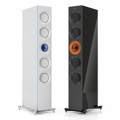 KEF Reference Five Foundry Editions Audiophile Speakers, Monitor Speakers, Best Speakers, Bookshelf Speakers, Bluetooth Speakers, High End Speakers, High End Audio, Floor Standing Speakers, Music System