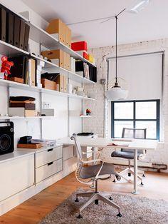 Loft in Tribeca, New York. Office.