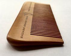 Badass Wood Beard Comb | Badass Beard Care