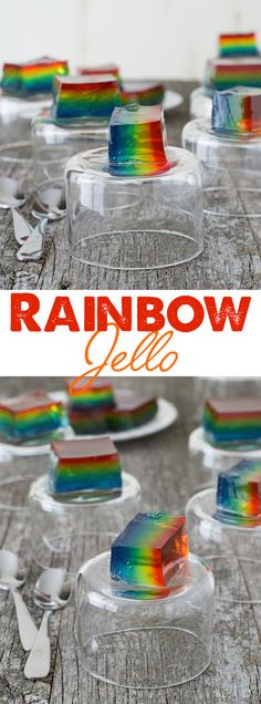 Rainbow Jello - crea