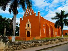 MAMA YUCATAN MEXICO - FORMER CONVENT AND CHURCH