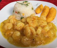 Camarones al Curry, un sensacional plato que no requiere de mucha publicidad para convertirse en tu favorito.