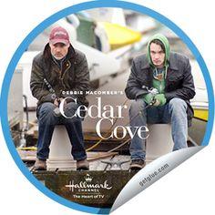 Steffie Doll's Debbie Macomber's Cedar Cove: Jack and Eric Sticker | GetGlue