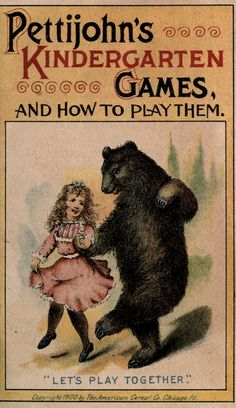 Charmingly illustrated Victorian book