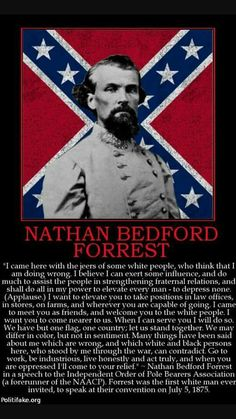 The Truth about General Nathan Bedford Forrest Confederate Statues, Confederate Flag, Southern Heritage, Southern Pride, Us History, History Facts, American Civil War, American History, Obama Cartoon