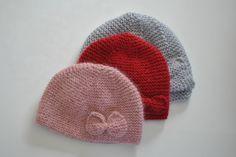comment tricoter bonnet bebe naissance